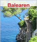 preiswert auf die Balearen - Mallorca Ibiza Menorca Formentera
